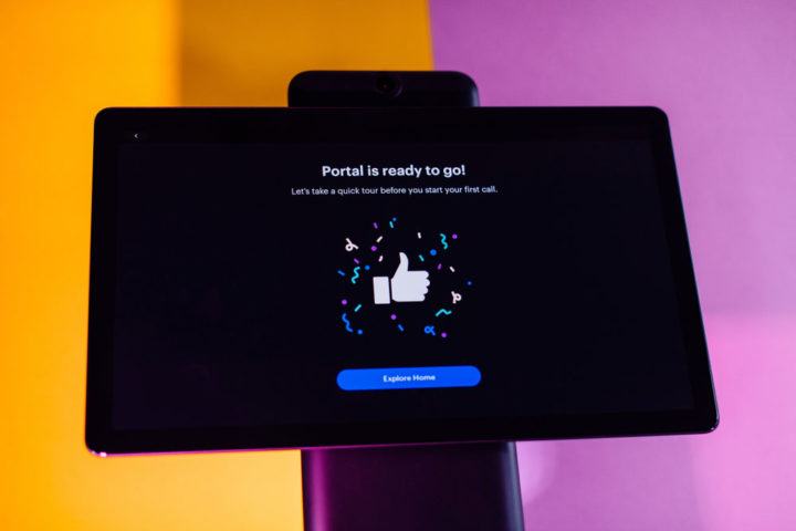 Facebook Portal: If you can't be there, feel there