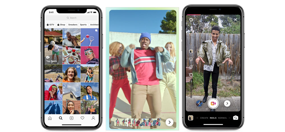 Instagram introduces Reels to compete with TikTok