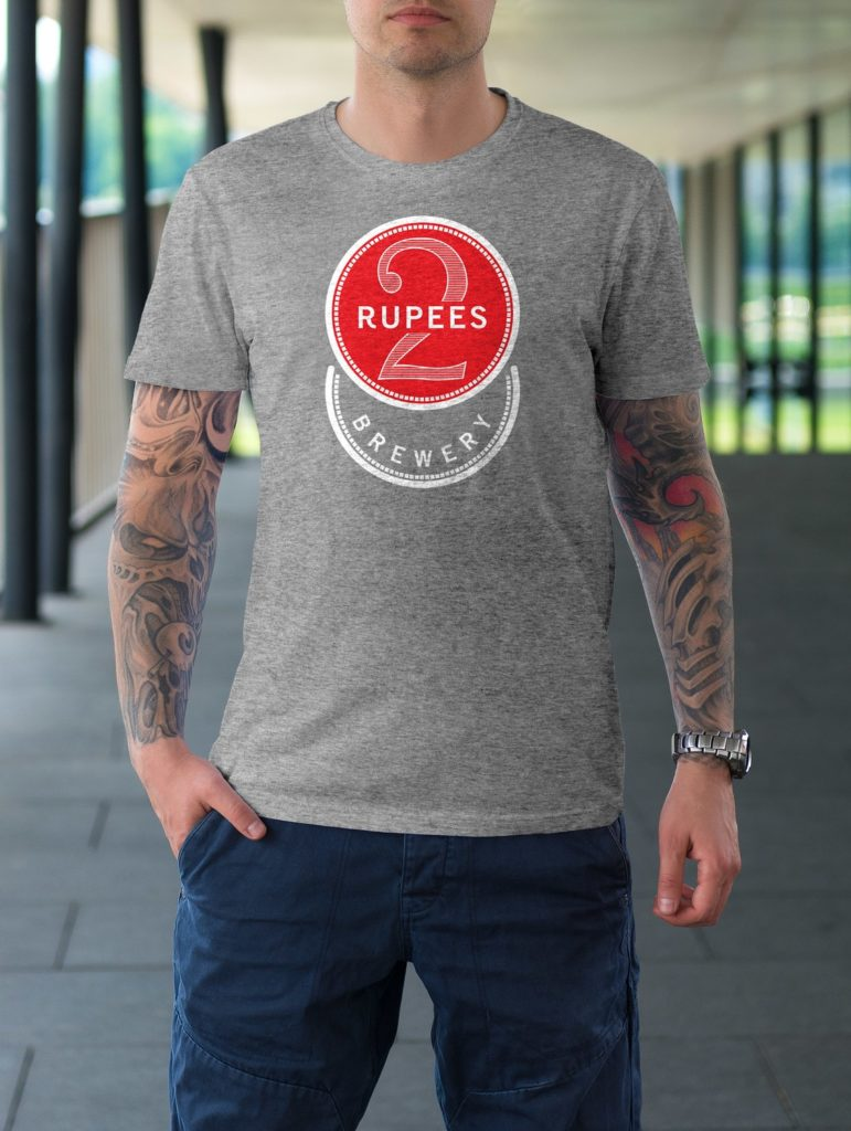 T-shirt of 2 rupees