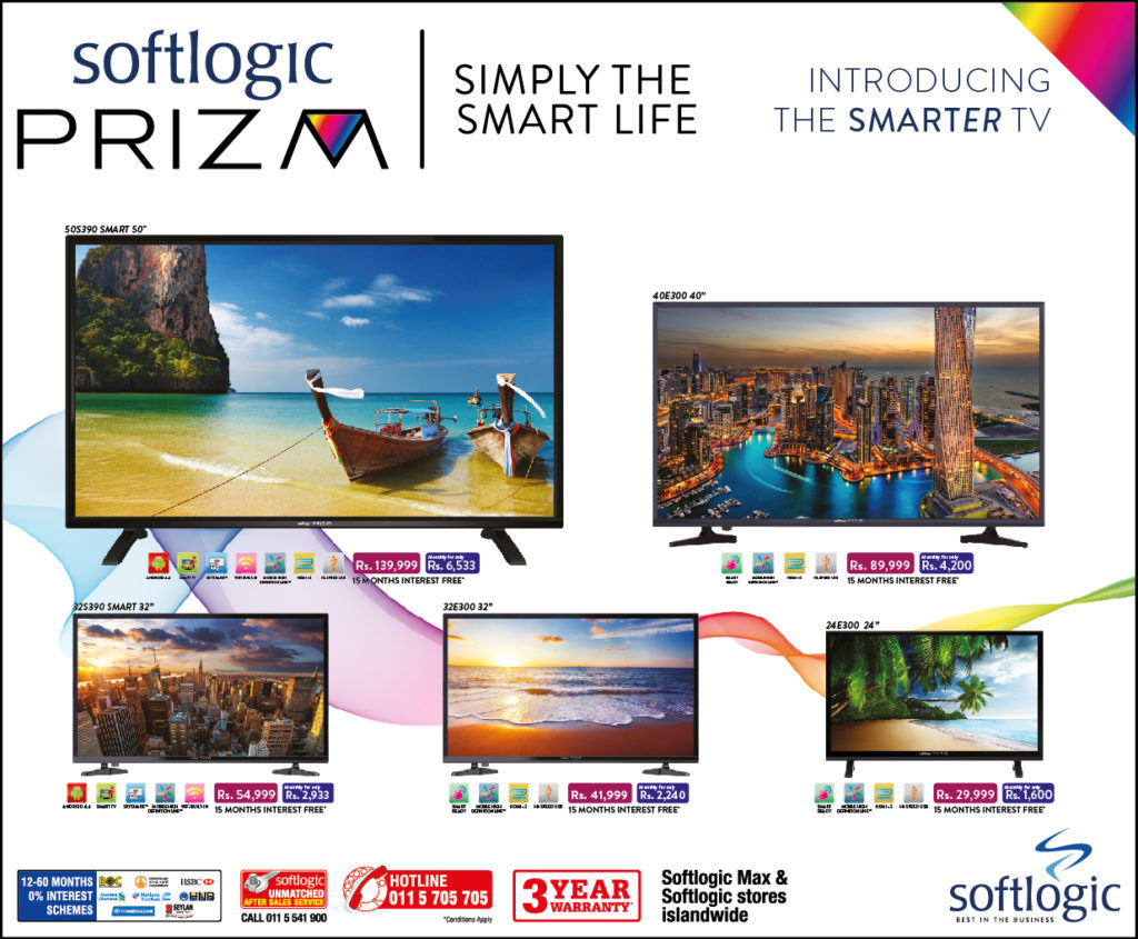 Softlogic PRIZM TV big banner