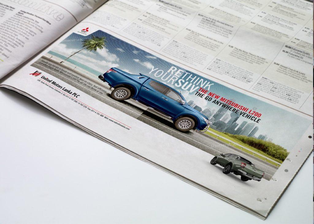 Article of New Mitsubishi l200