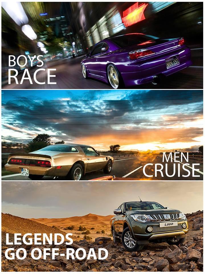 Legends go off-road