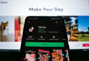 TikTok is testing a shoppable, live-stream experience
