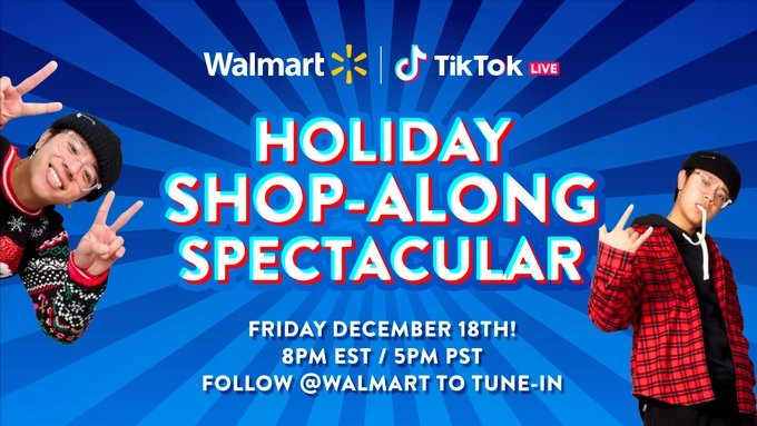 Holiday shop-along spectacular