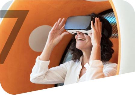 VR seven media images