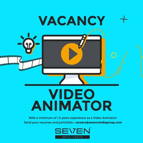 Video Animator vacancy