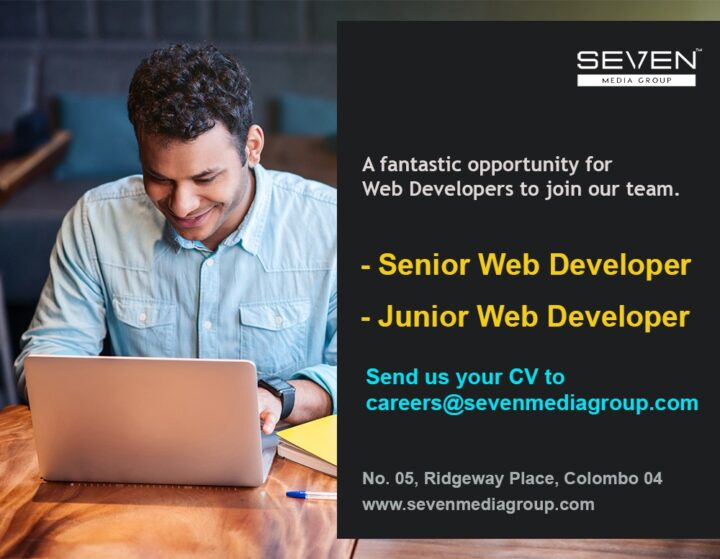 web developer vacancy post